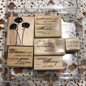 🍒 Stampin' Up! 🍒 « Happy Harmony » Stamps Set